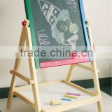 magnetic wooden sided WordPad whiteboard blackboard,kids magnetic writing board, drawing board, stationary