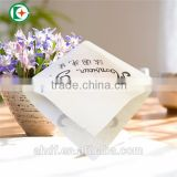 triangle paper bag wholesale for sandwich packaging/portable wrapper for food/ accept custom order