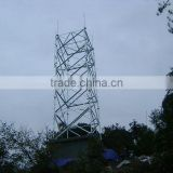 lattice angle steel telecommunication tower