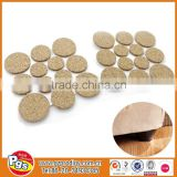 wood chair accessories cork adhesive table foot floor pads