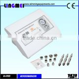 Lingmei diamond tips and wand home use microdermabrasion