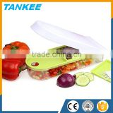 Eco-friendly feature kitchen food chopper stainless steel metal type onion vegetable slicer