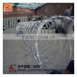 Barbed Wire Coil,razor blade barbed wire factory Type and Cross Razor Razor Type barbed tape wire