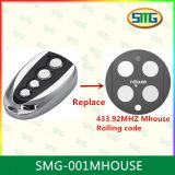 MHouse TX4 new version is MHouse GTX4,Fully compatible remote control,433,92MHz