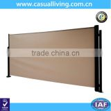 Outdoor garden metal folding movable screen room divider