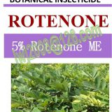 5% Rotenone ME, botanical insecticide, natural