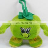 plush stuffed vegetable green tomato toy