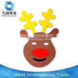 New Design Children EVA Cute Cartoon Reindeer Mask