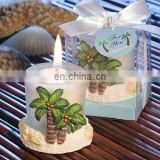 Palm Tree Design Candle Favors