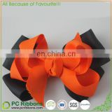 grosgrain ribbon,polyester Material and Kids Type grosgrain hair ribbon bows