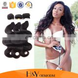 Factory price indian human hair, unprocessed indian human hair body wave hair extension