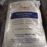 technical grade 98%min Chinese Concrete Cure Accelerator Calcium Formate