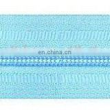 Nylon long chain zipper and Coil zipper Roll zipper