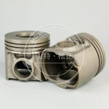 Komatsu PC450-7 excavator part 6152-32-2510 engine parts piston assy hot sale