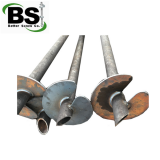 OEM Round Shaft Helical Anchors for Basement Repairs