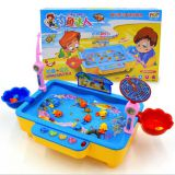 2020 New Arrival Fishing Toys Child Music Playing House USB Electronic Fishing Platform Spin Magnetics For chlidren kids