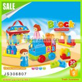 hot selling Educational plastic building blocks baby blocks