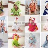 cotton baby Squares Hooded Towel Four beach gown child bathrobe beach towels baby cloak cape baby bath