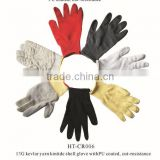 cut and chemical resistant gloves/level 5 cut resistant gloves
