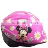 kid's cartoon design outdoor bicycle helmet