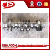 dongfeng tractor 6L engine parts crankshaft with best price and high hardness