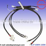 SAE 4 AWG Cable Battery Bare Side Terminal Car Horn Auto Wire Harness