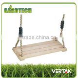 Creditable partner best selling single wooden swing seat