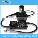 Factory!!! High quality 2500lm h7 led headlight kit fanless design for car motorcycle led headlight kit