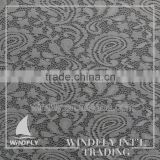 Best Selling Quality Guaranteed Wholesale Price Yarn Dyed Jacquard Lace Fabric