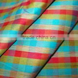 Polyester fabric, check