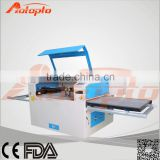 AZ-1590M Toys & Gift industry table top laser cutting machine with moving table