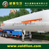 ASME standard 3 axle LPG tank trailer, 56000L LPG gas trailer                                                                         Quality Choice