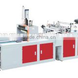 FQ type series computer heat sealing cold cutting single high-speed flat vest bag making machine