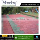 EPDM Granule Rubber Playground Flooring Colorful Rubber Mat