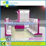 Furniture for clothing store/customized bags store furniture/shop furniture garment display