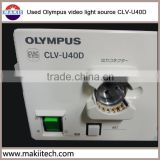 used Olympus cold light source endoscope CLV-U40D/CLV-260