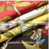 Cotton reactive printed fabric bamboo curtain decorative cloth tablecloths