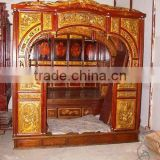 chinese antique wedding bed