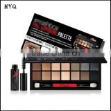 High Quality Eye Shadow with Brush and Mascara 14 Colors Eyeshadow Palette