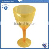 Polycarbonate Plastic Colored Black Wine Glass