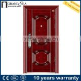 Apartment stronger steel fire door with panic push bar prices