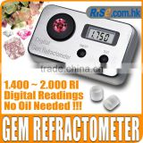 Gemology Gemstone 1.4~2.0 RI Gemological Diamond Jewel Digital Gem Refractometer