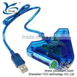 for PS2 USB transfer cable for ps2 controller/joystick converter convert to ps3 game series