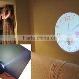 wall LED projector clock, pointer display LED projection wall clock