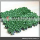 Synthetic tape grass terrace for sports playground