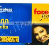 Quality hot-sale display scratch card