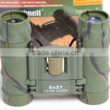 DCF 8x21 small optical foldable binoculars with high quality lens