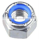 Hex Nut -- Nylock Hex Nut