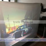 film optical projection screen,transparent rear projection film , Very suitable for shop window applications