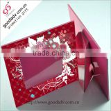 Factory direct wholesale christmas gift folding photo frame                                                                         Quality Choice